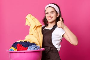 sabun mesin cuci bukaan depan